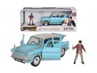 Immagine di Harry Potter Ford Anglia 1959 in scala 1:24 con personaggio di Harry in die cast