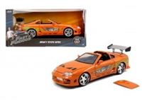 Immagine di Fast & Furious 1995 Toyota Supra in scala 1:24 die-cast