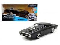 Immagine di Fast & Furious Dodge Charger (Street) in scala 1:24 die-cast, funzionamento a ruota libera, parti apribili