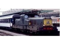 Immagine di SNCF, electric locomotive class BB 13000 in green/yellow livery, BB 13041, period IV