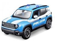 Immagine di 1/24 Assortimento Lamborghini Huracan Polizia & Jeep Renegade Polizia