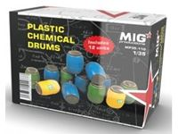 Picture of 1/35 Plastic Chemical Drums