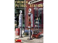 Immagine di 1/35 French Petrol Station 1930-40S