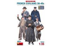 Immagine di 1/35 French Civilians 30-40s. Resin Heads