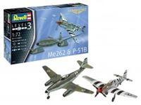 Immagine di 1/72 Me262 & P-51B - Combat Set