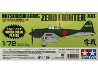 Picture of 1/72 Mitsubishi A6M5 Zero Fighter (Zeke) Silver Plated