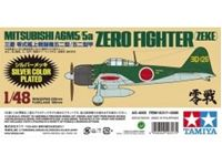 Picture of 1/48 Mitsubishi A6M5/5a Zero Fighter (Zeke) Silver Plated