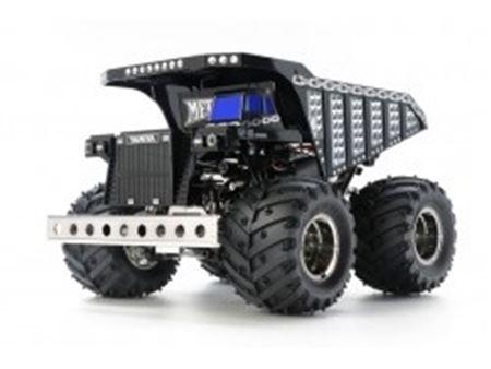 Immagine di 1/24 RC Dump Truck Metal Style 4WD Telaio GF-01