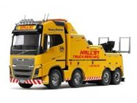 Picture of 1/14 RC Volvo FH16 Globetrotter 750 8x4 Tow Truck