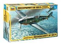 Picture of 1/48 Messerschmitt BF-109 F4 German Fighter