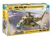 Picture of 1/48 Soviet Attack Helicopter MI-24V/VP