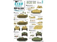 Immagine di 1/35 DECAL Axis and Eastern Europe Sturmgeschutz StuG.III No.2 Bulgaria, Spain, Italy, Yugoslavia
