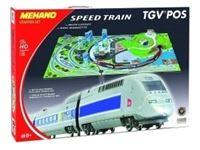 Immagine di Mehano set complePlastico con set completo Treno Mehano TGV  scala H0 met111