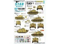 Immagine di 1/35 DECAL (DECAL) German Tanks In Italy No9. Hermann Goring Pz.Kpfw.III Ausf.M And Ausf.N Pz.Kpfw.IV Ausf.G And Ausf.H,Marder II.