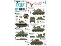 Immagine di 1/35 DECAL (DECAL) Polish Tanks In Italy 1943 1945 No2. Sherman Mk.II, Sherman Mk.III, Sherman Mk.IB 105mm