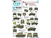 Immagine di 1/35 DECAL (DECAL) Polish Tanks In Italy 1943 1945 No3. AFVs And Armoured Cars