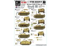 Immagine di 1/35 DECAL (DECAL) German Tanks in Italy No.2. Sturmgeschutz StuG.III Ausf.G And StuH 42