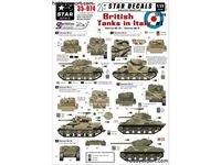 Immagine di 1/35 DECAL (DECAL) British Tanks In Italy Part 1