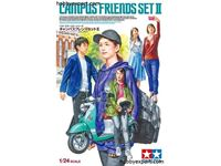 Immagine di Tamiya - 1/24  KIT Campus Friends Set II