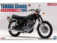 Immagine di Aoshima 1/12 KIT (MAQUETTE) (KIT (MAQUETTE)) Yamaha SR400S with custom parts