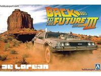 Immagine di Aoshima 1/24 KIT  Back To The Future III DeLorean
