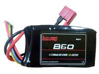 Picture of Lipo batteria 3S -11,1V 860MAH  Deans