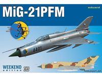 Picture of EDUARD MODEL MiG21 PFM