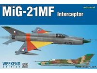 Picture of EDUARD MODEL MiG 21MF Interceptor Weekend Edition