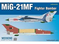Picture of EDUARD MODEL MIG21MF FighterBomber