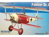 Picture of EDUARD MODEL Fokker Dr I Weekend Edition