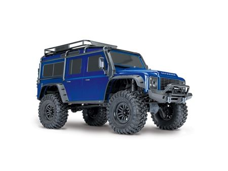Immagine di TRAXXAS Trx-4 Land Rover Defender Trail Crawler - Blu