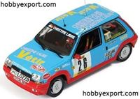 Picture of IXO 1/43 DIE CAST  Renault 5 Gt Turbo Mauffrey Monte Carlo 1988