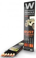 Picture of WATERCOLOR PENCIL SET RUST AND STREAKING