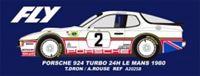 Picture of Porsche 924 turbo - n.2 24H Le Mans 1980 - T.Adron, A.Rouse