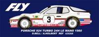 Immagine di Porsche 924 turbo - n.3 24H Le Mans 1980 - D.Bell, A.Holbert