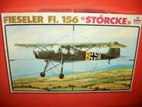 Immagine di ESCI 4019 1/48 Scale WWII German Fieseler Fi.156 Storch Vintage Model Kit