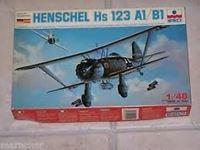 Immagine di ESCI Henschel Hs 123 A1/B1, ESCI 4001
