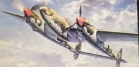 "Picture of HASEGAWA 1/48 P-38G/G/H  Lightning ""BEAUTIFUL LASS"""