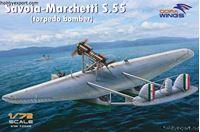 Picture of DORAWINGS  1/72 KIT  SAVOIMARCEHTTI S.55 TORPEDO BOMBER