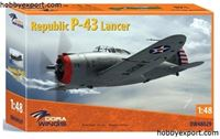 Immagine di DORAWINGS  	1/48 KIT REPUBLIC P43 LANCER