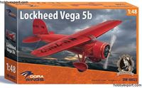 Immagine di DORAWINGS  	1/48 KIT   LOCKHEED VEGA 5B RECORD FLIGHTS
