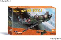 Immagine di Dorawings  	1/48 KIT  BLOCH MB.155 C.1