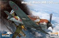 Immagine di DORAWINGS 	1/48 KIT   MARCEL BLOCH MB 152C 1 (LATE)