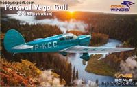 Immagine di DORAWINGS  	1/48 KIT  PERCIVAL VEGA GULL CIVIL