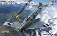 Immagine di DORAWINGS  	1/48 KIT MESSERSCHMITT BF109 AB LEGION CONDOR