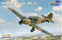Immagine di DORAWINGS  	1/48 KIT  PERCIVAL PROCTOR MK.III