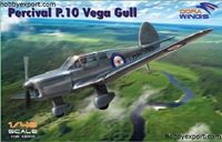Immagine di DORAWINGS  	1/48 KIT PERCIVAL P.10 VEGA GULL MILITARY SERVICE