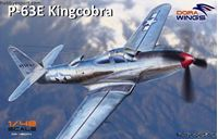 Immagine di DORAWINGS 	1/48 KIT   BELL P63E 1BE KING COBRA