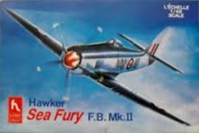 Picture of HOBBY CRAFT 1583 Hawker Sea Fury FB Mk II 1:48