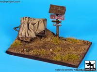 Picture of Black Dog 1/35 KIT ROAD WITH TRAILER BASE